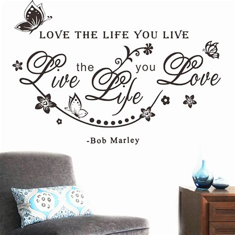 tattoo love the life you live kitchen wall tattoos promotion shop for promotional