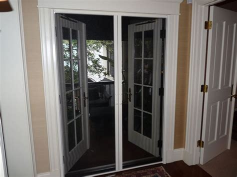 Phantom Screen Door by Retractable Screen Doors