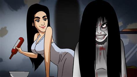 animasi kartun hantu seram pocong lucu animasi kartun hantu gambar kartun