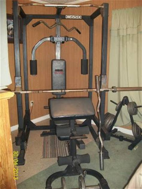 weider club 650 weight station 500 bunkie sporting