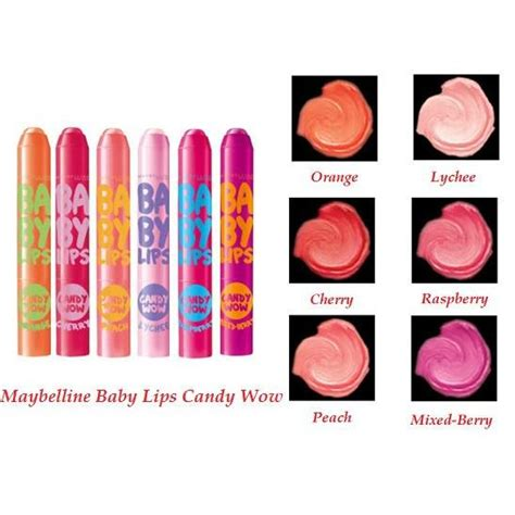Daftar Maybelline Baby maybelline baby wow lip balm available 5