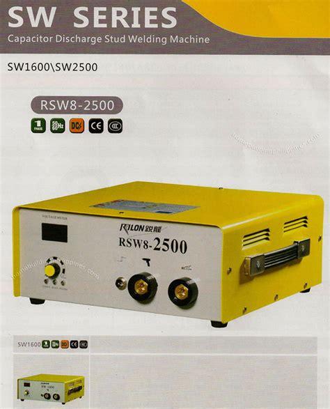 capacitor discharge stud welding machine capacitor discharge stud welding machine philippines