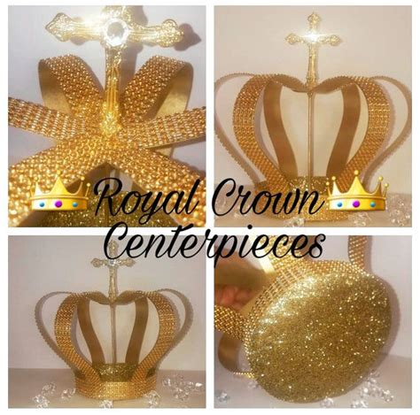 large decorative metal crown painted shimmer by 9 quot tall gold crown centerpiece large crown bling crown