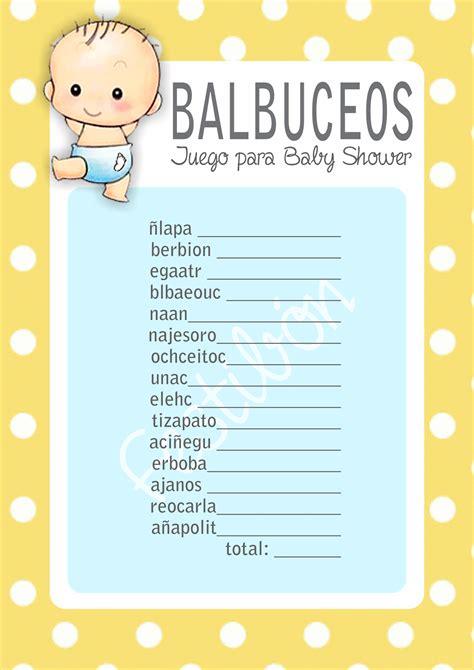 Juegos De Baby Shower by 10 Juegos Para Baby Shower Originales Juegos De Baby Shower