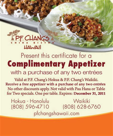 Pf Changs Gift Card Promotion - new p f chang s coupons printable coupons online