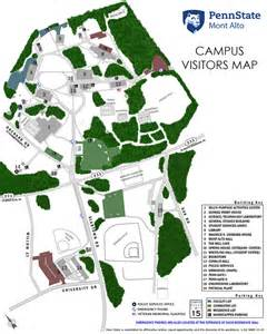 Penn State University Campus Map by Image Penn State Mont Alto Campus Map Penn State Mont Alto