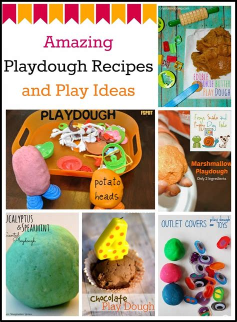 Doh Amazing Food 28020 amazing playdough recipes and play ideas fspdt