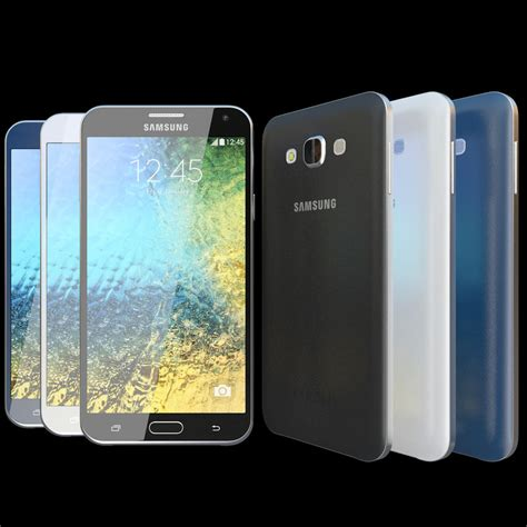 realistic samsung galaxy e7 3d model