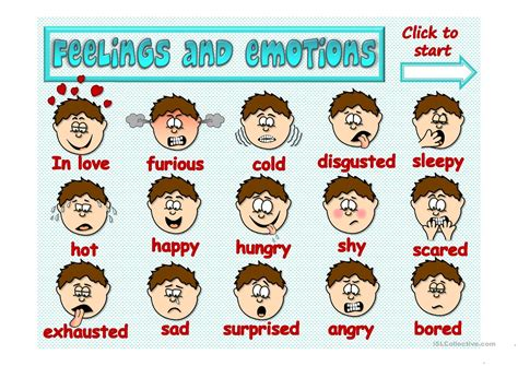best of emotions all worksheets emotions for kindergarten free all best