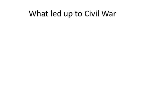Events That Led Up To The Civil War Essay by What Led Up To The Civil War Key Events And Movements Ppt Notes Crossword Review Lesson