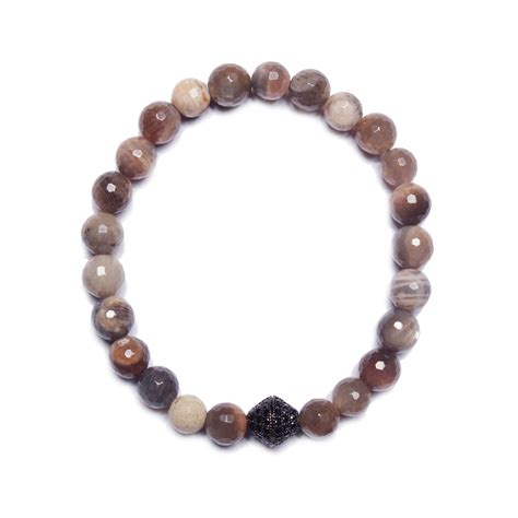 moonstone bead bracelet moonstone bead bracelet we are all smith touch of modern