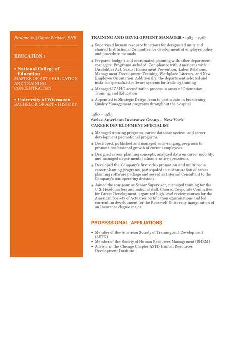 contoh curriculum vitae praktisi human resources 2