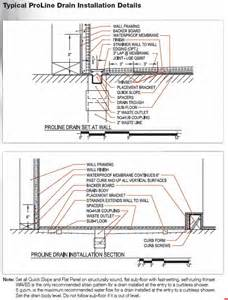 shower trench drain installation proline by drain linear shower drain by trench drain