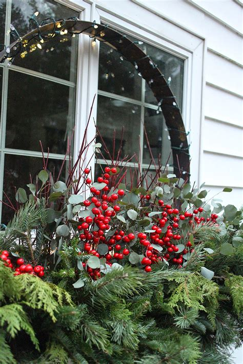 youtube how to decorate a christmas window box the impatient gardener cheer for outside