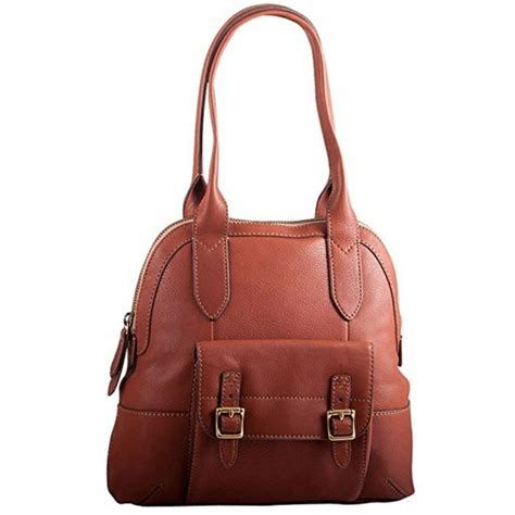 Fossil Large Satchel by 55 Fossil Handbags Fossil Leather Tate Large Dome