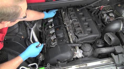 part  replacing  bmw  cylinder valve cover gasket