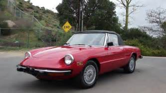 1974 alfa romeo spider roadster convertible stainless