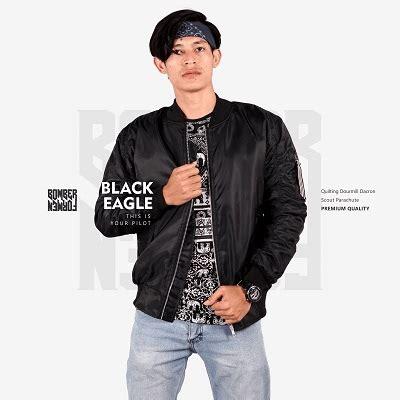 Jaket Bomber Black Eagle Original jaket bomber pria terbaru black eagle jaket jege