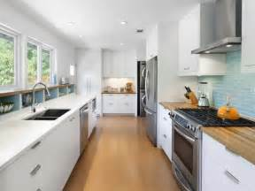 white galley kitchen ideas 12 amazing galley kitchen design ideas and layouts