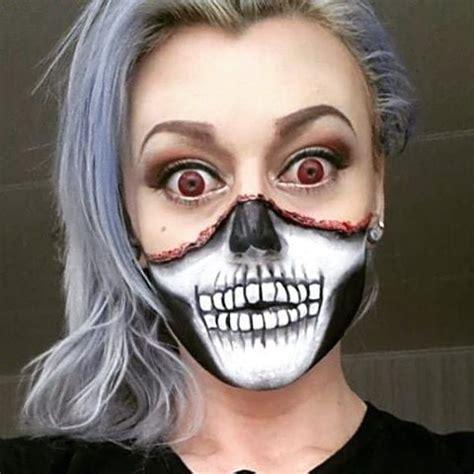skeleton makeup transformations   halloween
