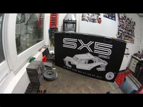 Baja Sk5 kraken rc unboxing the sidewinder x5