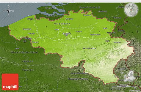 geographical map of belgium physical 3d map of belgium darken