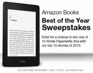 Amazon Kindle Giveaway - amazon enter to win a kindle paperwhite