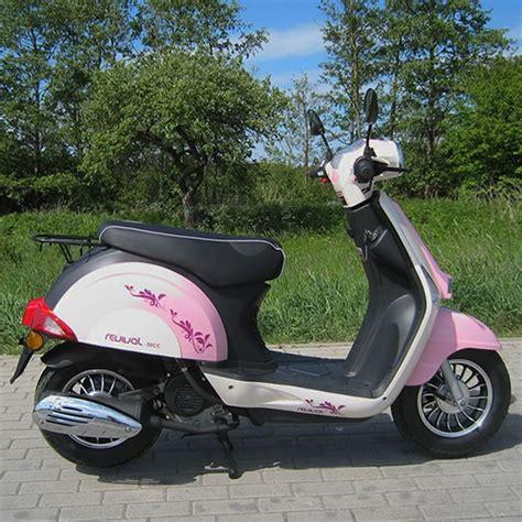 125ccm Motorrad Pink by Motorroller 45 Km H Girly Revival 50 Ccm M 228 Dchen Roller In