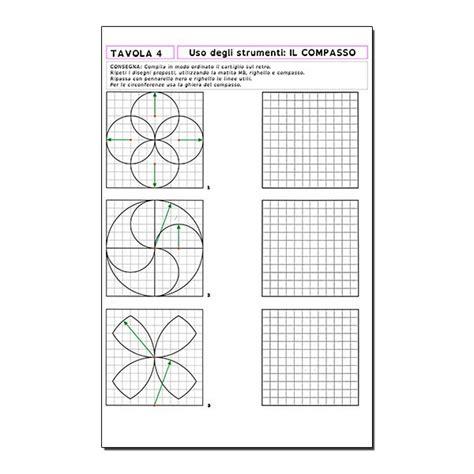 tavole geometriche quaderno di tecnologia vol 1 materiali e figure