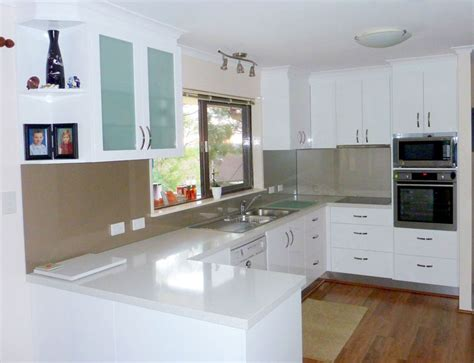 Kitchen Island In Small Kitchen u shaped kitchen designs u shape gallery kitchens brisbane