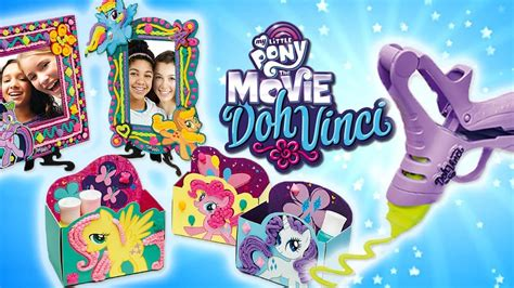 film mlp play doh my little pony the movie 2017 doh vinci creations play doh