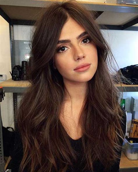 hairstyles that wont wash out brown eyes and olive skin pretty dark chocolate long hairstyles long hairstyles