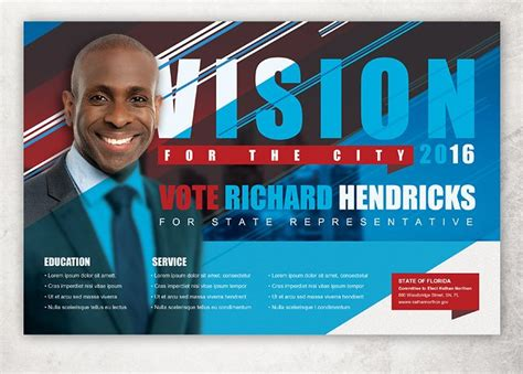 vision political flyer template flyer templates