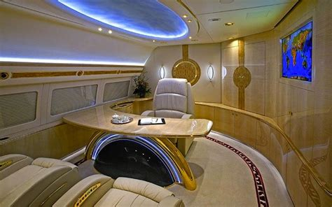 amazing private jet interiors step   worlds