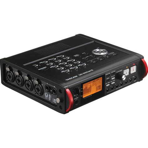 Tascam Dr 70d Professional Field Recorder tascam dr 680mkii portable multichannel recorder dr 680mkii b h