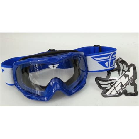 fly motocross goggles fly racing focus youth motocross goggle blue