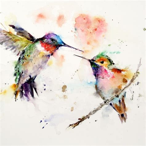 25 beautiful colorful watercolor paintings
