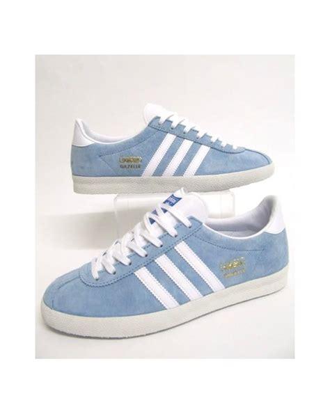 Adidas One Baby Blue adidas gazelle og trainers sky blue white originals