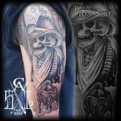 dead cowboy tattoo pictures to atlanta falcons tattoos images search atlanta