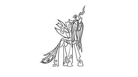 queen chrysalis vector inkscape by killfire sk on deviantart