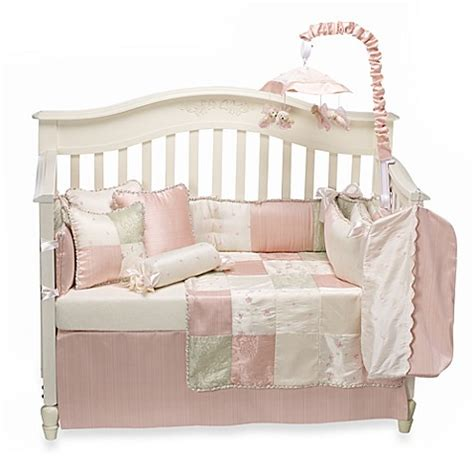 glenna jean crib bedding glenna jean meadow crib bedding accessories buybuy baby