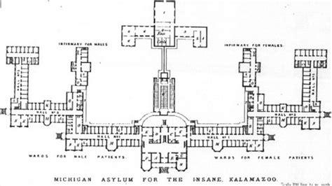 ancient sort of roof construction kirkbride asylum plans neatorama