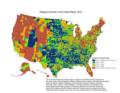 religion by state religion in america s states and counties in 6 maps