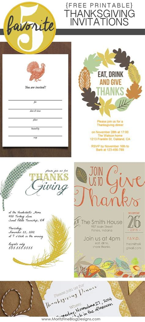 20 Best Ideas About Thanksgiving Invitation On Pinterest Potluck Invitation Friendsgiving Friendsgiving Menu Template