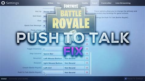 fortnite voice chat not working fortnite push to talk fix