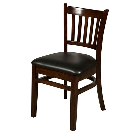 chair in beech wood for restaurant and dining room idfdesign oak street wc102wa beech frame dining chair w vertical