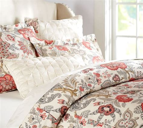 pottery barn king comforter allegra palore duvet cover sham pottery barn
