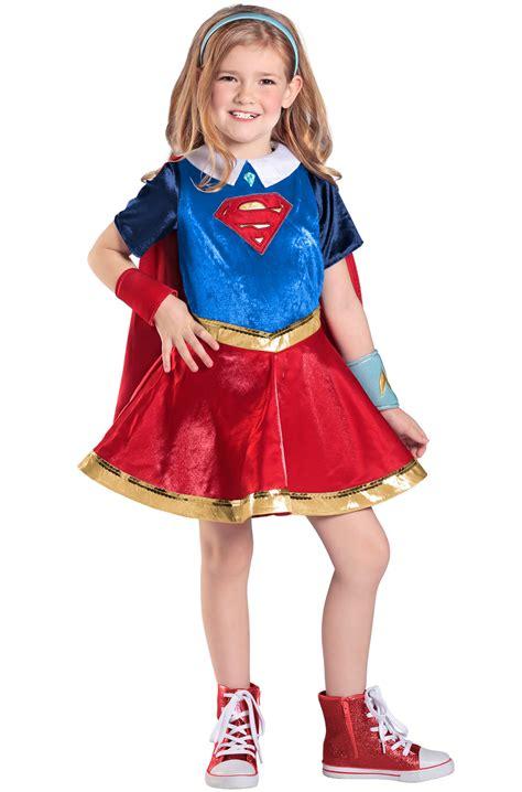 premium supergirl child costume purecostumescom