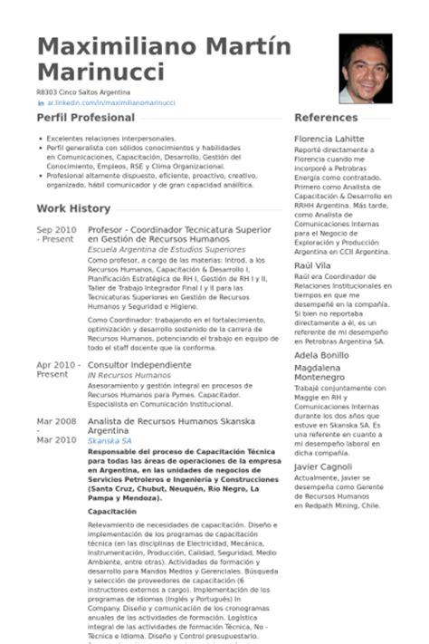 Ejemplo Curriculum Director Recursos Humanos Profesor Ejemplo De Curr 237 Culum Base De Datos De Visualcv Muestras De Curr 237 Culos