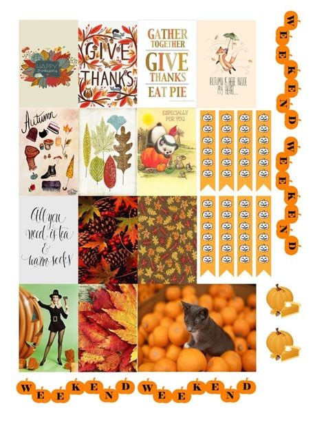 printable turkey stickers free printable thanksgiving planners stickers from monica